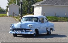 54 Chevy owned by Corey and Debbie Delves