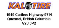 Kal-Tire Quesnel